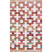 "Momeni Novogratz Ojai Multicolor Cotton Area Rug - 7'6"" X 9'6"""