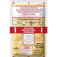 Medline Accutherm Instant Hot Pack 6 x 10-inch (Case of 24)