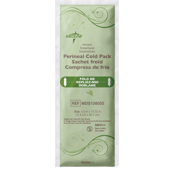 Medline Standard Post Delivery Perineal Cold Pk with Ob Pad (Case of 24)