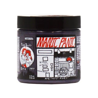 Manic Panic Semi-Permanent Classic Cream 4-ounce Hair Dye Amethyst Ashes (2 options available)