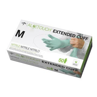 Medline Aloetouch Extended Cuff Chemo Nitrile Exam Gloves Medium (Case of 500)|https://ak1.ostkcdn.com/images/products/1929721/P10249158.jpg?impolicy=medium