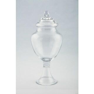 Clear Apothecary Jar