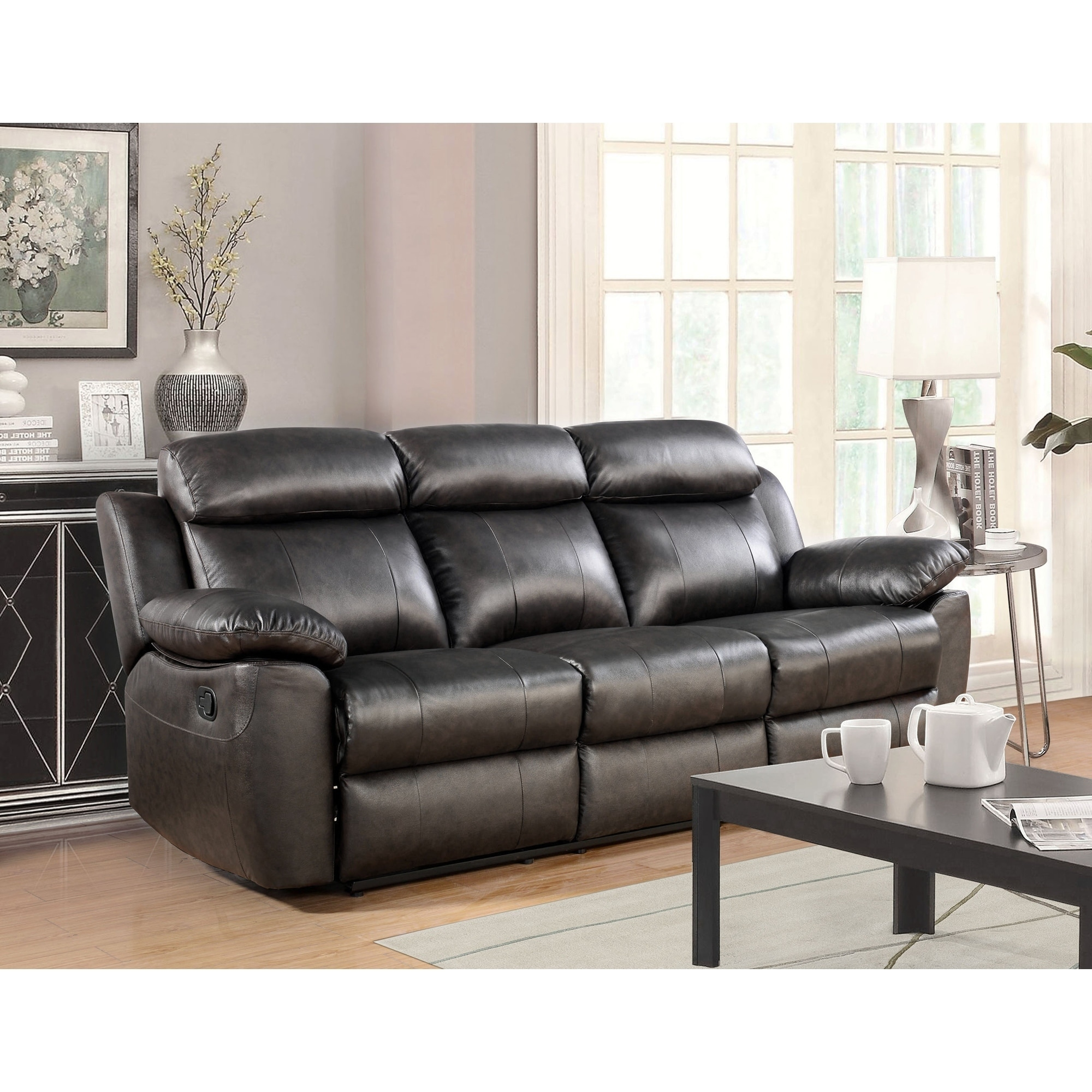buy recliner leather sofas couches online at overstock our best rh overstock com leather recliner sofas uk leather reclining sofas uk