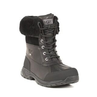 UGG Australia Men's Black Butte Boots