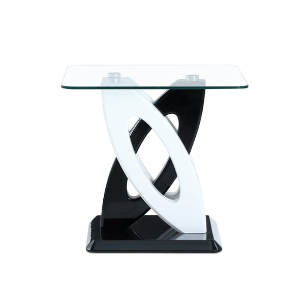 Global Furniture Dual Orbit Style Base End Table Free Shipping - Orbit coffee table