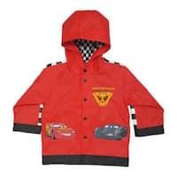 Boys' Western Chief Lightning McQueen Rain Coat Red