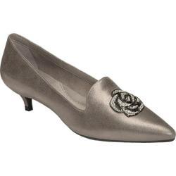 Women's Aerosoles Best Dressed Pump Silver Leather