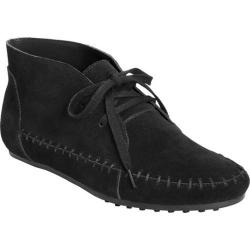 Women's Aerosoles Driving Range Chukka Boot Black Suede