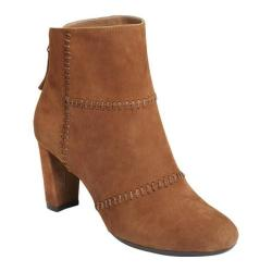 Women's Aerosoles First Ave Bootie Dark Tan Suede