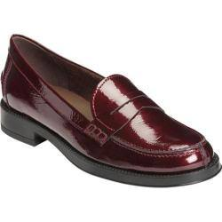 Women's Aerosoles Push Ups Penny Loafer Wine Patent Leather|https://ak1.ostkcdn.com/images/products/193/184/P23370007.jpg?impolicy=medium
