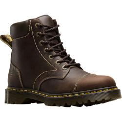 Dr. Martens Ranch 7-Eye Boot Brown Kingdom Waxy Leather
