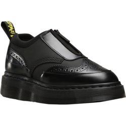 Women's Dr. Martens Resnik Zip Up Oxford Black Ajax/Polished Smooth Leather/Neoprene