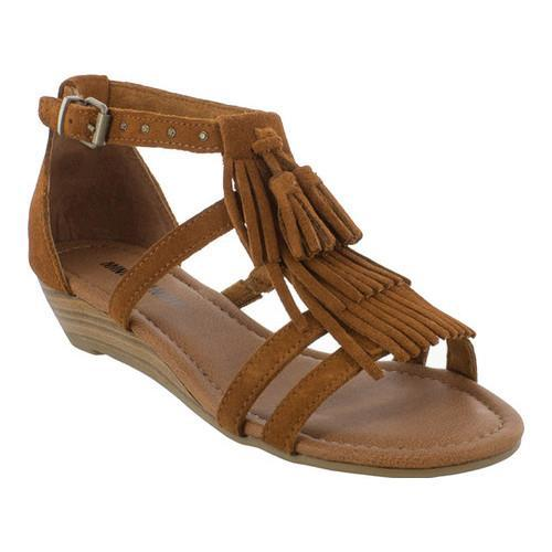 Shop Women s Minnetonka Marina Wedge Sandal Brown Suede - Free Shipping  Today - Overstock - 17099712 015142545
