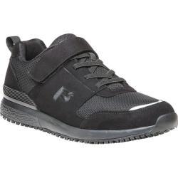Men's Propet Stewart Walking Shoe Black Mesh/Microfiber