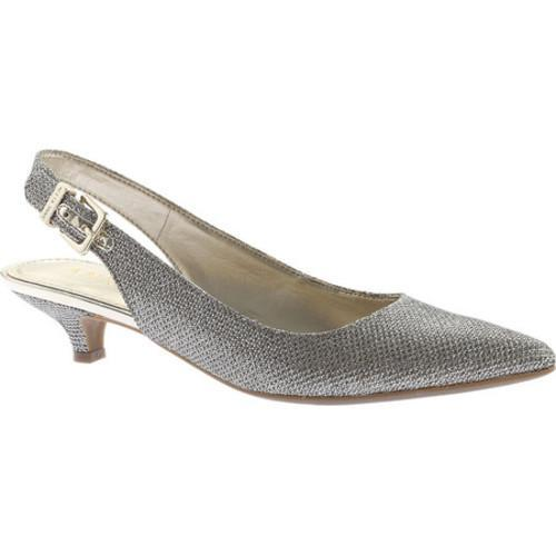 e9c551eb29e Shop Women s Anne Klein Expert Slingback Gold Fabric - Free Shipping Today  - Overstock - 17121683