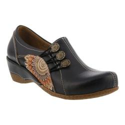 Women's L'Artiste by Spring Step Agacia Closed-Back Clog Black Leather (More options available)