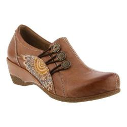 Women's L'Artiste by Spring Step Agacia Closed-Back Clog Tan Leather - Thumbnail 0