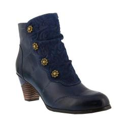 Women's L'Artiste by Spring Step Belgard Navy Leather