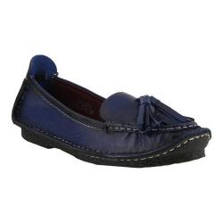 Women's L'Artiste by Spring Step Loleta Moccasin Navy Leather