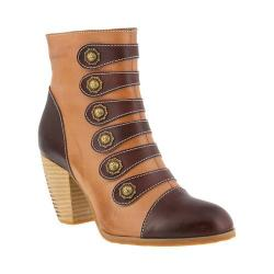 Women's L'Artiste by Spring Step Lovech Ankle Boot Brown Leather