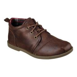 Women's Skechers BOBS Chill Luxe Oxford Brown