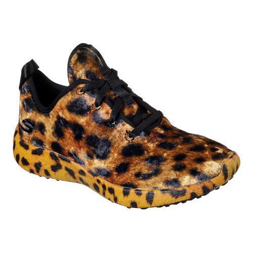 shop women's skechers burst hit the town mid top sneaker leopard ...