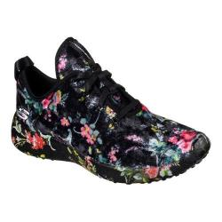 Women's Skechers Burst Hit the Town Mid Top Sneaker Black/Multi