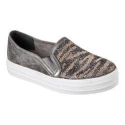 Women's Skechers Double Up Natural Instinct Slip-On Sneaker Charcoal|https://ak1.ostkcdn.com/images/products/193/388/P23389951.jpg?impolicy=medium