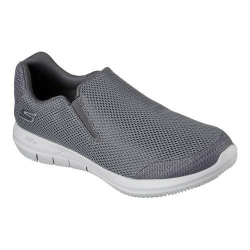 Men's Skechers GO FLEX 2 Completion Slip-On Walking Shoe Charcoal