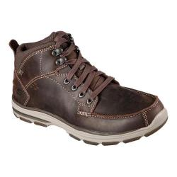 Men's Skechers Garton Boot Chocolate