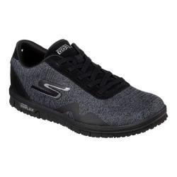 Women's Skechers GO MINI FLEX Galore Sneaker Black/Gray