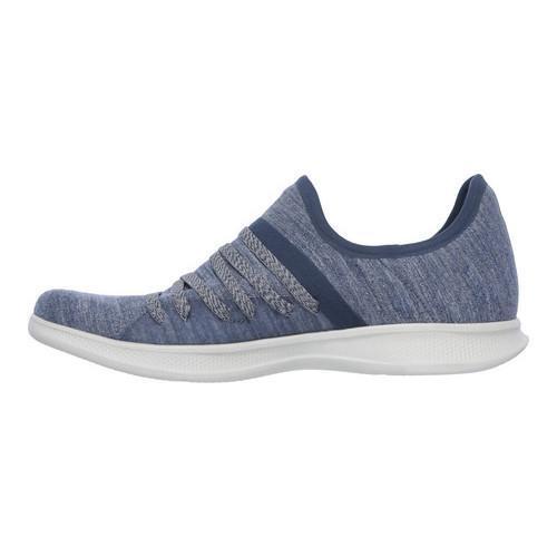 Women's Skechers GO STEP Lite Strived Slip On Sneaker Navy | Shopping The Best Deals on Sneakers