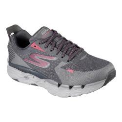 Women's Skechers GOrun Ultra Road 2 Running Shoe Charcoal/Pink