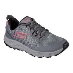 Women's Skechers GOtrail 2 Running Shoe Gray/Pink