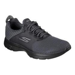 Men's Skechers GOwalk 4 Instinct Walking Shoe Black/Gray