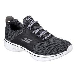 Women's Skechers GOwalk 4 Sustain Walking Shoe Black/White