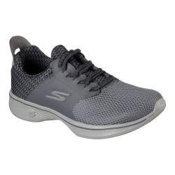 Women's Skechers GOwalk 4 Sustain Walking Shoe Charcoal