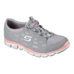 Women's Skechers Gratis Breezy City Sneaker Gray/Coral