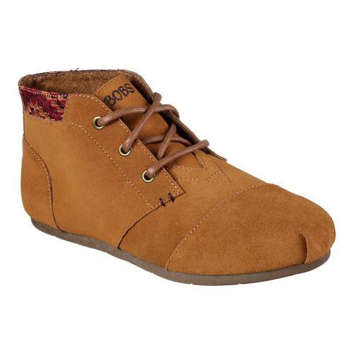 Skechers Luxe BOBS Rustic Sole Ankle Boot (Women's) xc0NWi7k7A