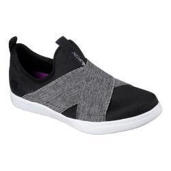 Women's Skechers Millennial Bellefire Slip-On Sneaker Black/Gray