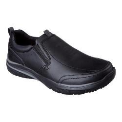 Men's Skechers Relaxed Fit Corven Ember Loafer Black