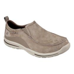 Men's Skechers Relaxed Fit Elected Mauro Loafer Light Brown