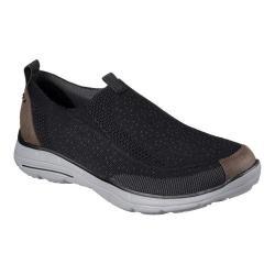 Men's Skechers Relaxed Fit Glides Larven Loafer Black