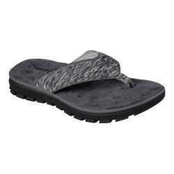 Men's Skechers Relaxed Fit Lencen Terek Thong Sandal Black