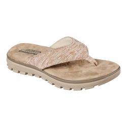 Men's Skechers Relaxed Fit Lencen Terek Thong Sandal Taupe