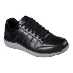 Men's Skechers Relaxed Fit Montego Barston Sneaker Black