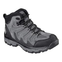 Men's Skechers Relaxed Fit Morson Gelson Hiking Boot Gray