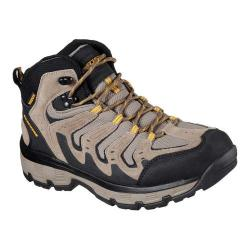Men's Skechers Relaxed Fit Morson Gelson Hiking Boot Tan