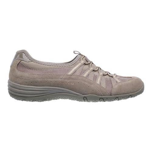 4e8b5b40d0772 Women's Skechers Unity Beaming Sneaker Taupe/Gold | Overstock.com Shopping  - The Best Deals on Sneakers