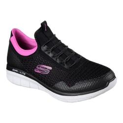 Women's Skechers Synergy 2.0 Mirror Image Black/Pink